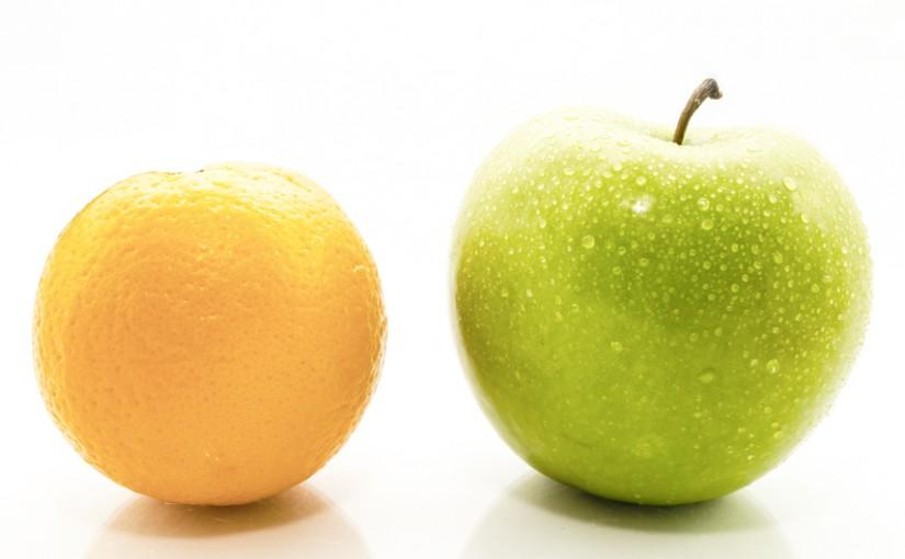 Vergelijken is lastiger dan je denkt